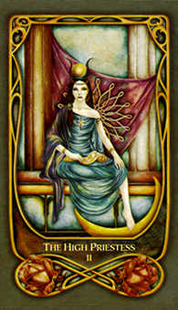 The High Priestess Tarot Card - Fenestra Tarot Deck