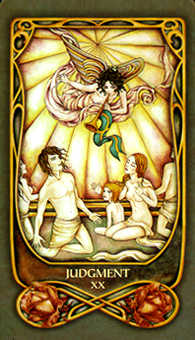 The Judgment Tarot Card - Fenestra Tarot Deck