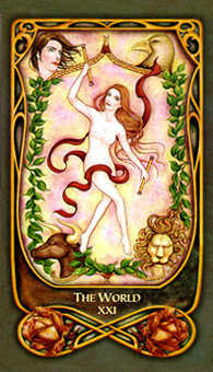 The World Tarot Card - Fenestra Tarot Deck