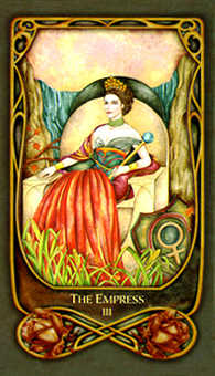 The Empress Tarot Card - Fenestra Tarot Deck