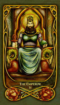 The Emperor Tarot Card - Fenestra Tarot Deck