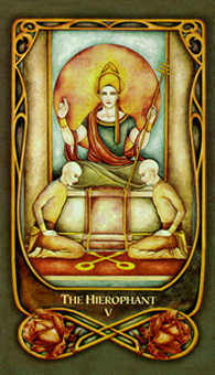 The Hierophant Tarot Card - Fenestra Tarot Deck