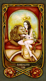 Strength Tarot Card - Fenestra Tarot Deck