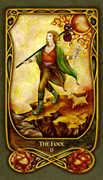 The Fool Tarot card in Fenestra Tarot deck