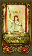 The Magician Tarot card in Fenestra Tarot deck