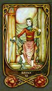 Justice Tarot card in Fenestra deck