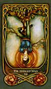 The Hanged Man Tarot card in Fenestra Tarot deck
