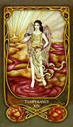 Temperance Tarot card in Fenestra Tarot deck