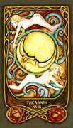 The Moon Tarot card in Fenestra deck