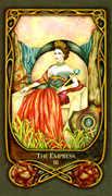 The Empress Tarot card in Fenestra Tarot deck