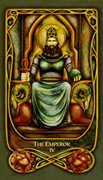 The Emperor Tarot card in Fenestra Tarot deck