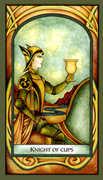 Knight of Cups Tarot card in Fenestra Tarot deck