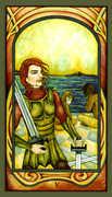 Five of Swords Tarot card in Fenestra deck
