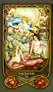 The Lovers Tarot card in Fenestra Tarot deck