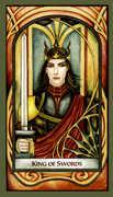 King of Swords Tarot card in Fenestra deck
