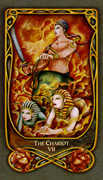 The Chariot Tarot card in Fenestra deck