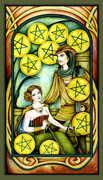 Ten of Pentacles Tarot card in Fenestra deck