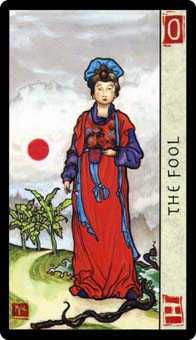 The Foolish Man Tarot Card - Feng Shui Tarot Deck
