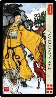 The Magus Tarot Card - Feng Shui Tarot Deck