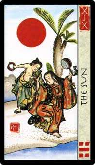 The Sun Tarot Card - Feng Shui Tarot Deck