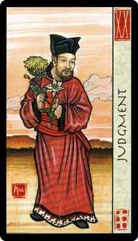 The Judgment Tarot Card - Feng Shui Tarot Deck