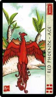 Ace of Cups Tarot Card - Feng Shui Tarot Deck
