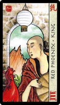 King of Ghosts Tarot Card - Feng Shui Tarot Deck