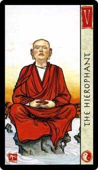 The Hierophant Tarot Card - Feng Shui Tarot Deck