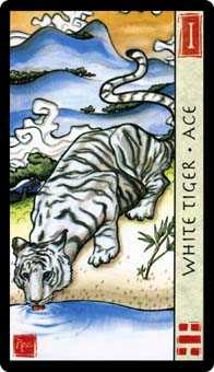 Ace of Wind Tarot Card - Feng Shui Tarot Deck