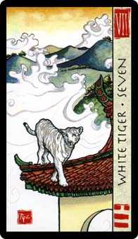 Seven of Wind Tarot Card - Feng Shui Tarot Deck