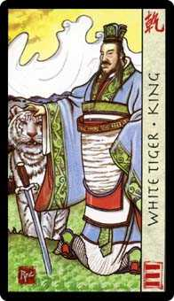 King of Spades Tarot Card - Feng Shui Tarot Deck