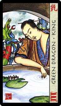 King of Coins Tarot Card - Feng Shui Tarot Deck