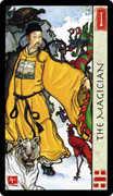 The Magician Tarot card in Feng Shui deck