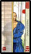 Death Tarot card in Feng Shui deck