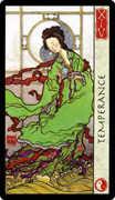 Temperance Tarot card in Feng Shui Tarot deck