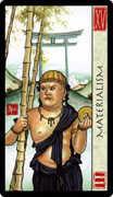 The Devil Tarot card in Feng Shui deck