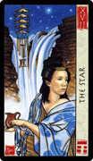The Star Tarot card in Feng Shui deck
