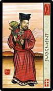 Judgement Tarot card in Feng Shui deck