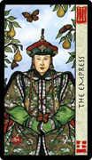 The Empress Tarot card in Feng Shui deck
