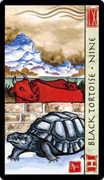 Nine of Wands Tarot card in Feng Shui Tarot deck