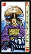 King of Wands Tarot card in Feng Shui deck