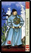 The Emperor Tarot card in Feng Shui deck