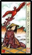 Queen of Cups Tarot card in Feng Shui deck