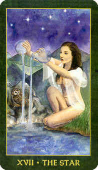 The Star Tarot Card - Forest Folklore Tarot Deck