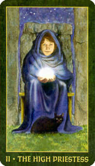 The Popess Tarot Card - Forest Folklore Tarot Deck