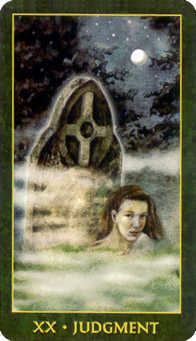 Judgment Tarot Card - Forest Folklore Tarot Deck