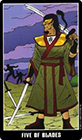 fradella - Five of Swords