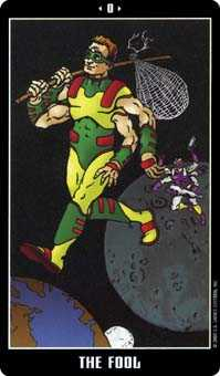 The Foolish Man Tarot Card - Fradella Tarot Deck