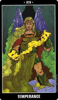 The Guide Tarot Card - Fradella Tarot Deck