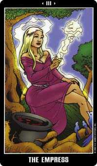 The Empress Tarot Card - Fradella Tarot Deck